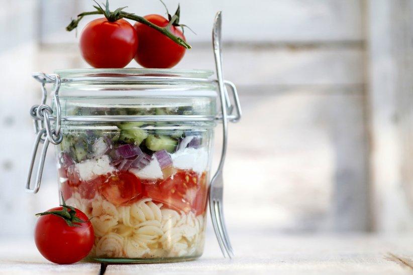 Salad jar : aussi belle que délicieuse !
