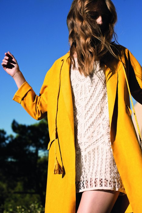 Le manteau long mi-saison