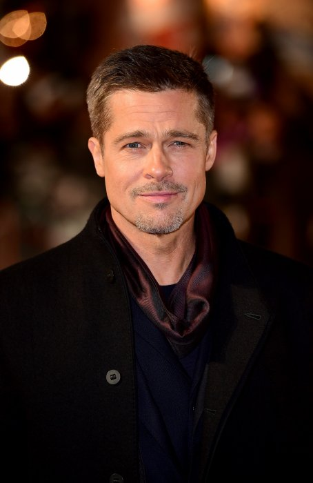 """Brad Pitt à la Première de """"Allié"""" à Londres, le 21 novembre 2016."""