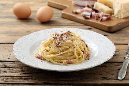 Pâtes à la carbonara comme de vrais Italiens