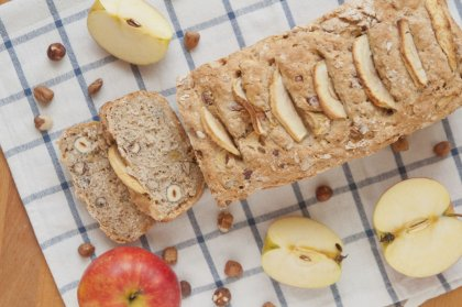 Bread cake pommes-noisettes sans gluten
