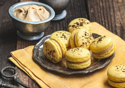 Macaron aux speculoos