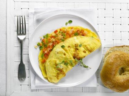 Omelette aux légumes