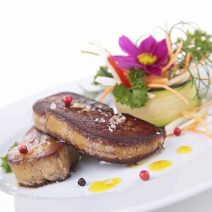 Escalopes de foie gras