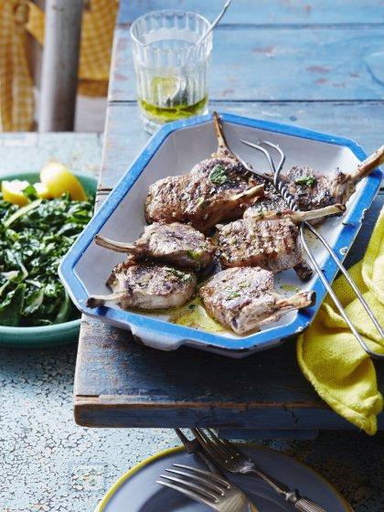Marinade thym citron et cumin pour des côtelettes d'agneau