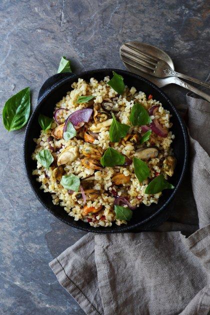 Quinoa aux fruits de mer