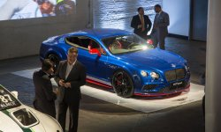 Nouvelle Bentley Continental GT Speed à New York