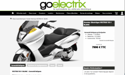 Goelectrix relance les scooters Vectrix en France