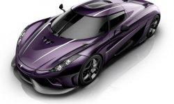Koenigsegg Regera : Purple Rain