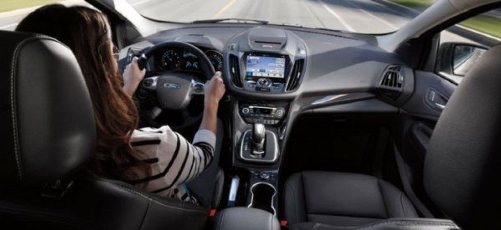 Blackberry partenaire de Ford pour la voiture connectée