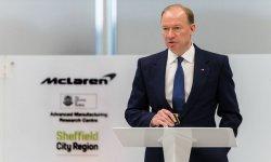 Nouvelle usine McLaren à Sheffield