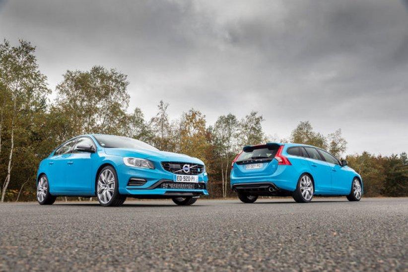 Volvo S60 et V60 Polestar en vue