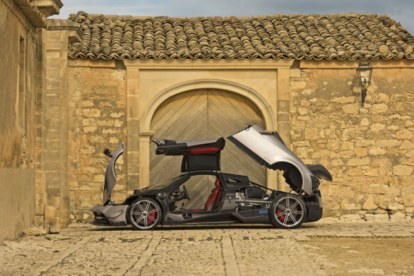 Pagani Huayra BC : seulement 20 exemplaires et 789 ch !