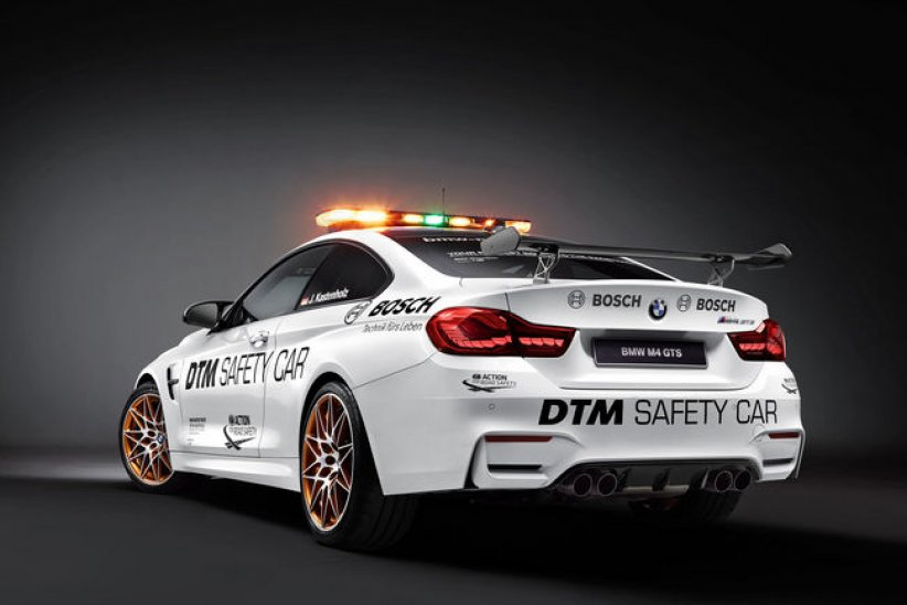 BMW M4 GTS, la nouvelle Safety-Car du DTM