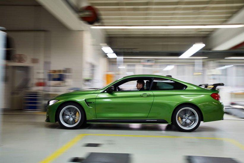 Une BMW M4 spéciale pour M.Wittmann