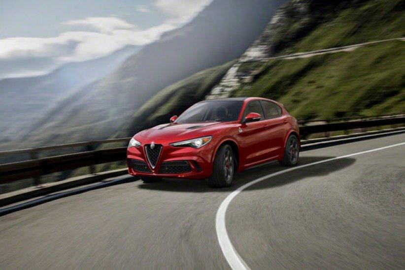 Alfa Romeo dévoile son SUV Stelvio