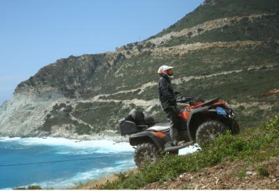 Le tour de la Corse en quad avec CFMoto