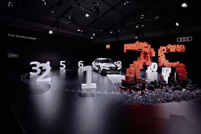 Expo inédite pour Audi et Lego