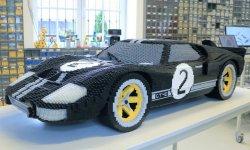 Deux Ford GT en Lego au Mans