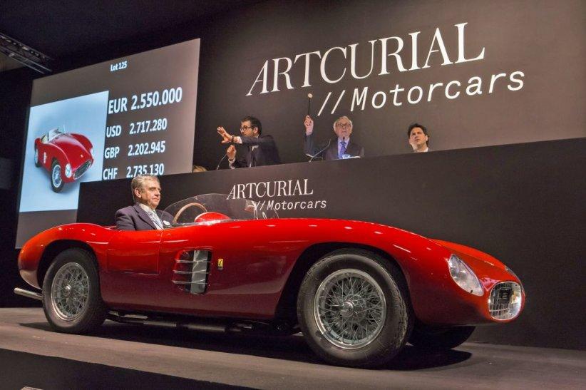 Ferrari 166 Spyder Corsa Scaglietti 1948