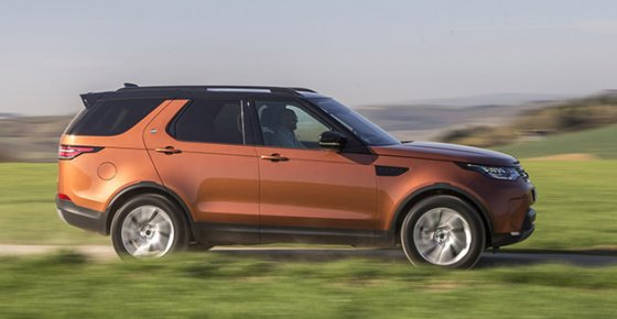 LAND ROVER Discovery 5 Td6 HSE Luxury