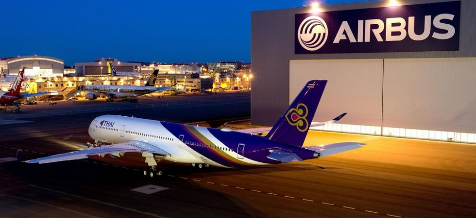 Thai Airways réceptionne son premier A350