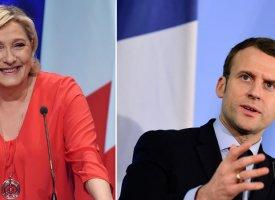Présidentielle : Marine Le Pen devant Emmanuel Macron au 1er tour (BVA - Orange - presse régionale)