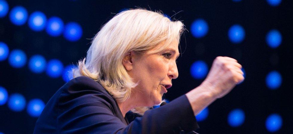 Marine Le Pen compare l'UE à l'URSS,