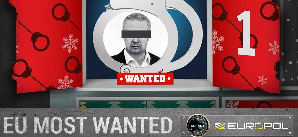 Europol lance son calendrier de l'Avent des criminels les plus recherchés d'Europe