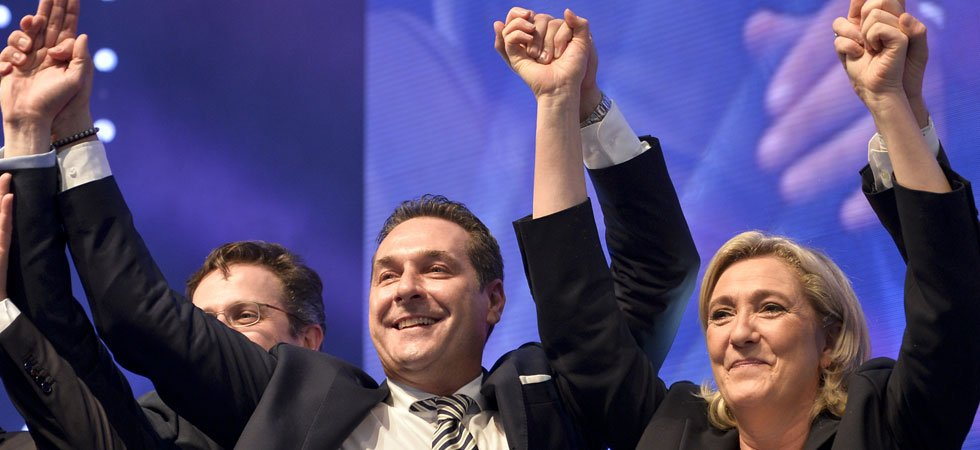 En Autriche, Marine Le Pen rêve d'un