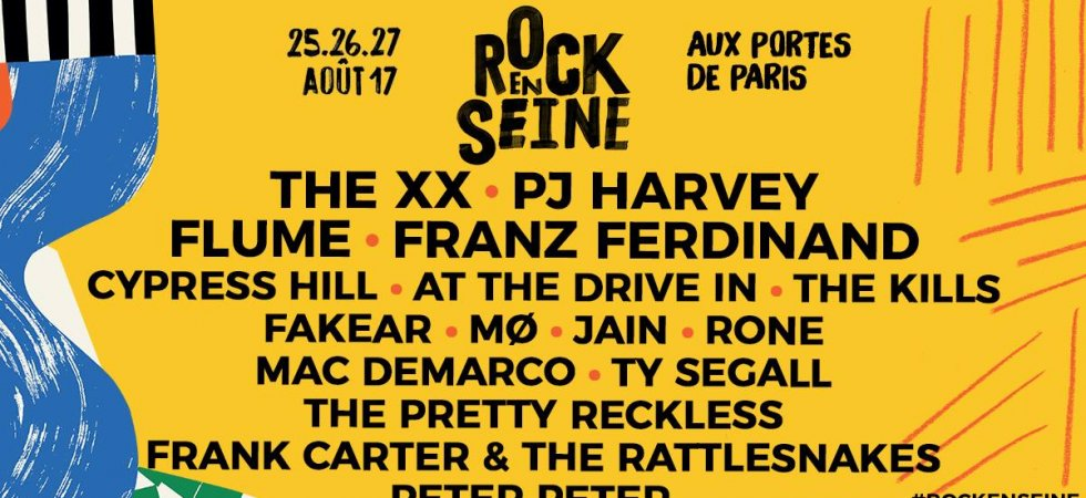 Rock en Seine 2017 : The xx, PJ Harvey, Jain à l'affiche