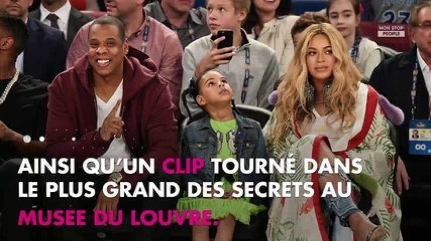 Beyoncé et Jay-Z : Tendres moments avec leur fille Blue Ivy à Cannes (Photo)