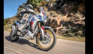 Honda CRF1100L Africa Twin Adventure Sports noir