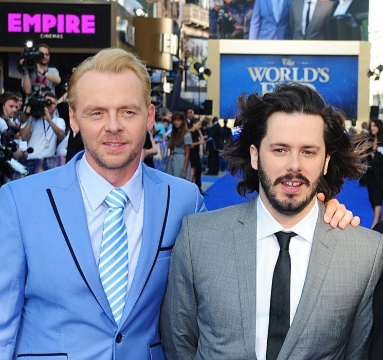 Simon Pegg et Edgar Wright