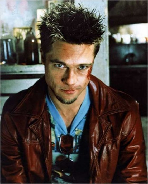 Brad Pitt dans Fight Club