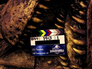 Une photo mordante pour le clap de fin de Jurassic World !