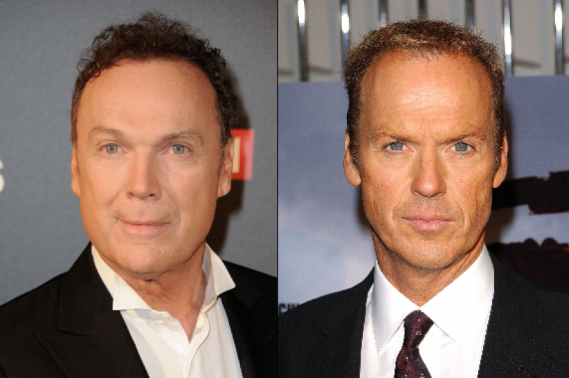 Julien Lepers et Michael Keaton