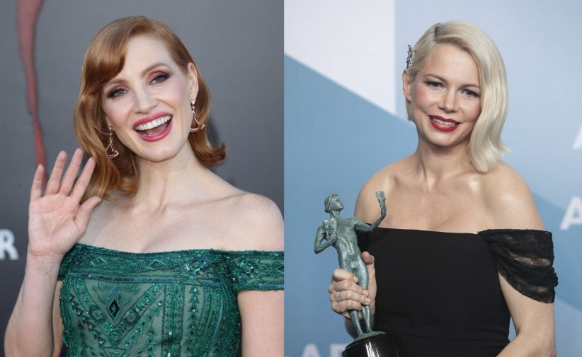 Jessica Chastain et Michelle Williams
