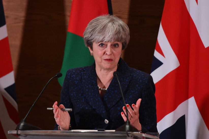 Theresa May contre Donald Trump