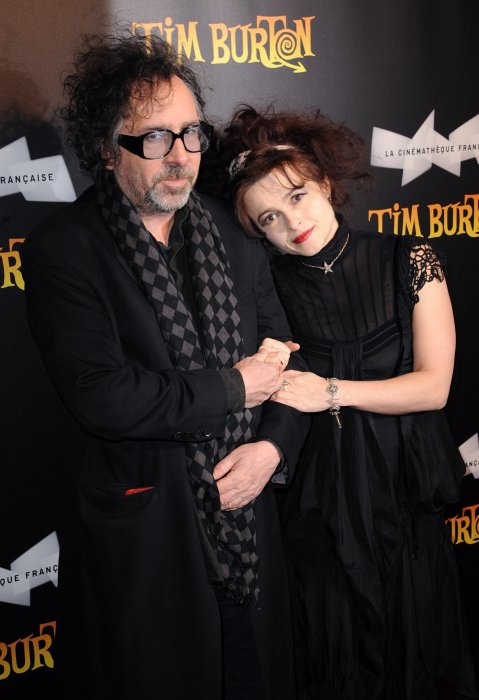 Tim Burton et Helena Bonham Carter, un couple fantasque