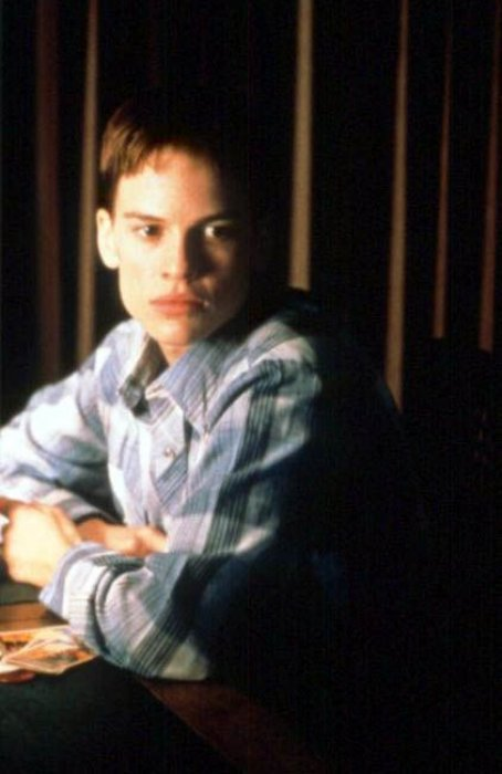 "Hilary Swank dans ""Boys Don't Cry"""