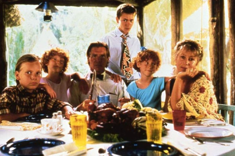"Helen Mirren et Harrison Ford dans ""The Mosquito Coast"""