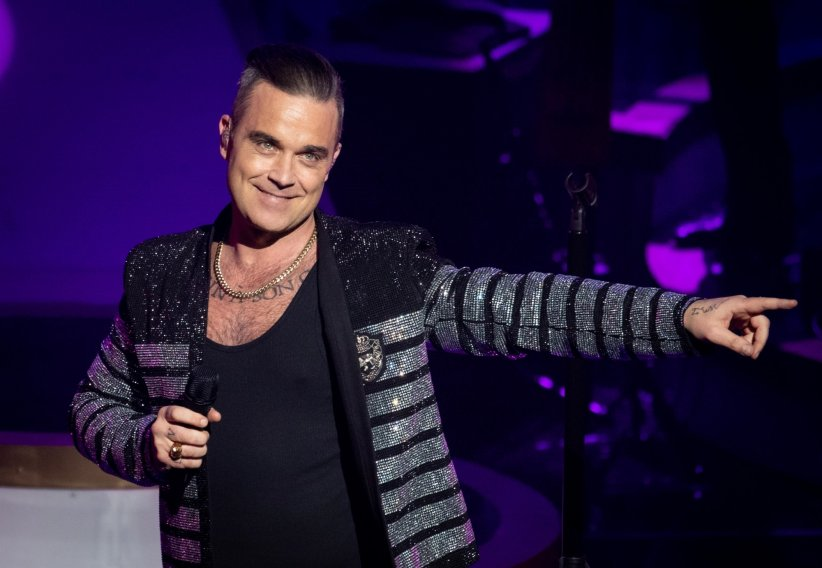 """Pretty Woman"" pour Robbie Williams"