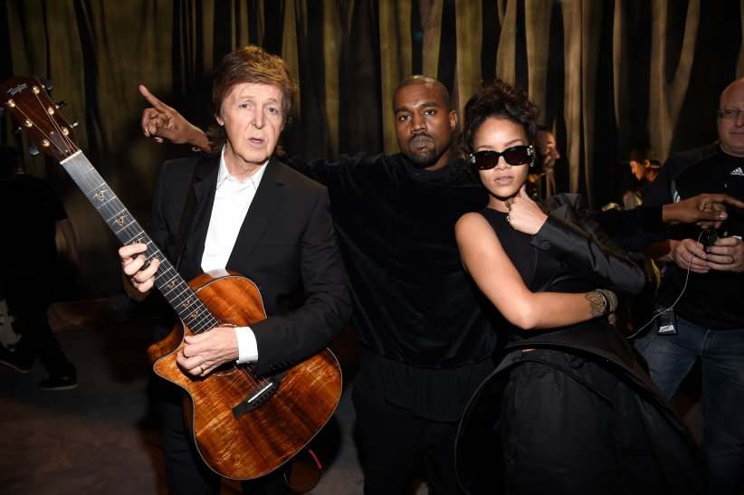 "Rihanna et Kanye West - ""FourFiveSeconds"" (2015)"