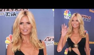 Heidi Klum est sublime sur le tapis rouge d'America's Got Talent