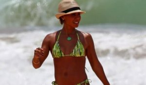 Jada Pinkett Smith en bikini à Hawaï