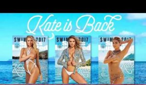 Kate Upton fait la couverture de l'édition 2017 de maillots de bain de Sports Illustrated