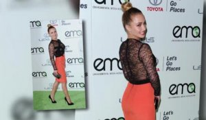 Hayden Panettiere est ravissante aux Environmental Awards