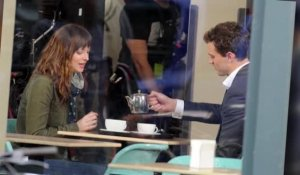 Dakota Johnson et Jamie Dornan commencent le tournage de Cinquante Nuances de Grey