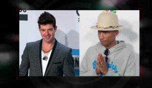 Robin Thicke et Pharrell Williams doivent 7,3 millions de dollars à la famille de Marvin Gaye pour Blurred Lines